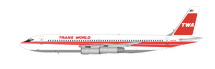 TWA Boeing 707-131B N799TW With Stand