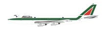 Alitalia Boeing 747-200 I-DEMY With Stand