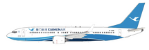 Xiamen Airlines Boeing 737-8 Max B-1288 With Stand