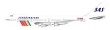 "SAS Boeing 747-200 LN-AEO ""Ivar Viking"" With Stand"