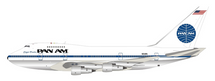 """Pan Am Boeing 747SP N531PA """"Clipper Freedom"""" Polished With Stand"""