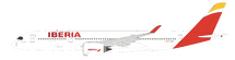 Iberia Airbus A350-900 EC-MXV With Stand