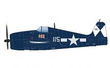 F6F-5 Hellcat USN VF-83, Death and Destruction, USS Essex, May 1945