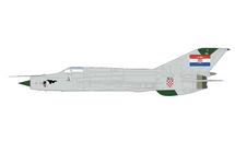 MiG-21BIS Fishbed Croatian Air Force 1st Fighter Sqn, Avenger of Dubrovnik