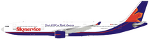 Skyservice Airlines Airbus A330-300 C-FBUS With Stand