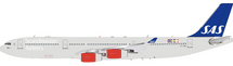 SAS Airbus A340-300 OY-KBA With Stand