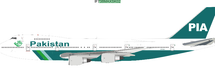 PIA Boeing 747-200 AP-BAK With Stand