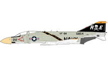 F-4J Phantom II USN VF-84 Jolly Rogers, AE212, USS Franklin D. Roosevelt, 1972