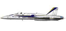 F/A-18C Hornet USN VFA-106 Gladiators, F/A-18 Hornet 30th Anniversary 2008