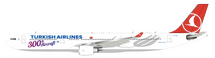 Turkish Airlines Airbus A330-300 TC-LNC 300th Aircraft With Stand