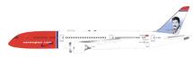 Norwegian Boeing 787-9 Dreamliner G-CKNA With Stand