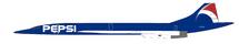 Air France Aerospatiale-British Aerospace Concorde 101 F-BTSD Pepsi With Stand