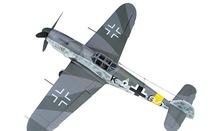 Bf 109G Luftwaffe 7./JG 52, Erich Hartmann, Russian Front, May 1943