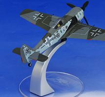 "FW-190 Luftwaffe JG 26 Schlageter, ""Black 13"", Major Joseph Priller"