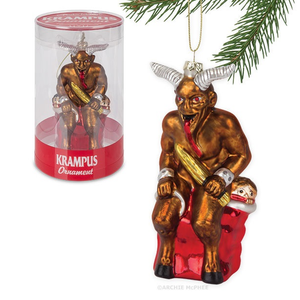 Krampus Ornament.