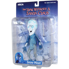 Snow Miser Action Figure on blister card.