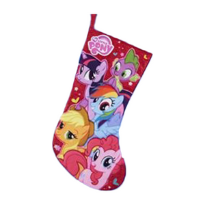 My Little Pony Applique Christmas Stocking