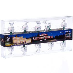 Christmas Vacation Moose Mug set of lights