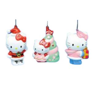 Hello Kitty Blow Mold Christmas Tree Ornaments