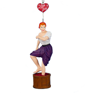Lucy Stomping Grapes Christmas Tree Ornament - I Love Lucy