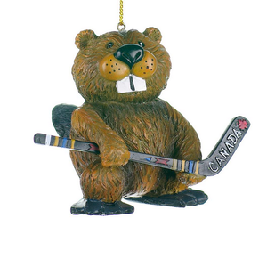 Hockey playing beaver.