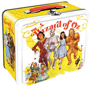 Wizard of Oz Tin Tote - Movie Poster Artwork