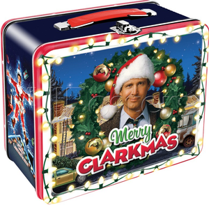 """Merry Clarkmas"" Christmas Vacation Lunch Box."