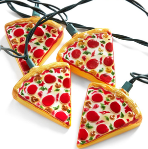 Pizza string lights.