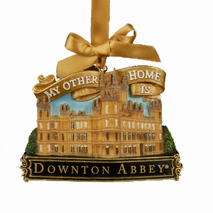 My other home is Downton Abbey - Christmas Tree Ornament