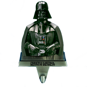 Darth Vader Christmas Stocking Holder in Gunmetal Finish
