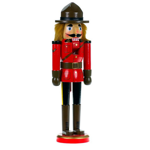 "RCMP Mountie 14"" Nutcracker"