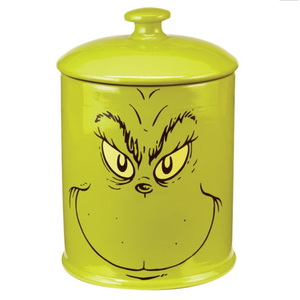 Dr Seuss How The Grinch Stole Christmas Cookie Jar