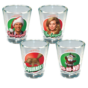 Christmas Vacation 4 Pack Shotglass