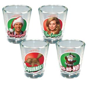 Christmas Vacation 4 Pack Shotglass