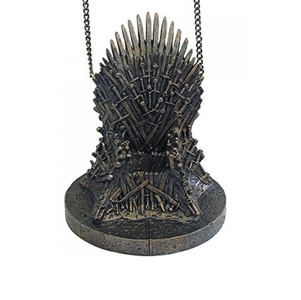 "GAME OF THRONES 4"" IRON THRONE CHRISTMAS ORNAMENT"