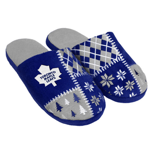 Toronto Maple Leafs Ugly Sweater Slippers