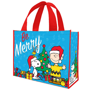 Peanuts Holiday 2015 Lg Shopper Tote