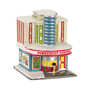 Department 56 Peanuts Village Pinecrest Cinema