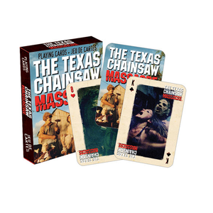 Texas Chainsaw Massacre Playing Cards
