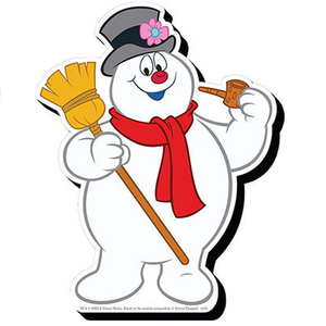 Frosty the Snowman Chunky Magnet