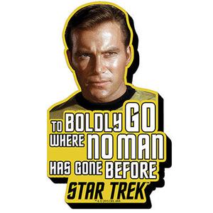 Captain Kirk Chunky Magnet - Star Trek