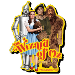 Wizard of Oz Cast Chunky Magnet