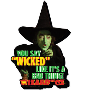 Wicked Witch Chunky Magnet - Wizard of Oz