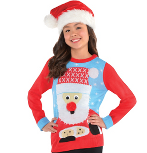 Kids Santa Sweater