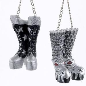 KISS Boots Ornament