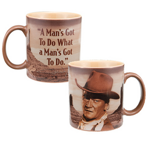 John Wayne Mug.