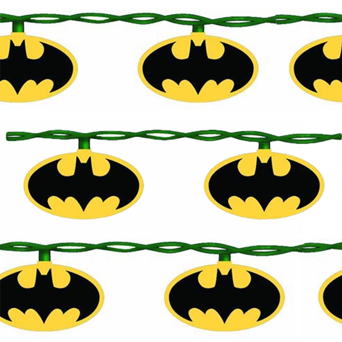 Batman Christmas Tree Lights - RetroFestive.ca