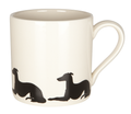 Mug Long dog reclining