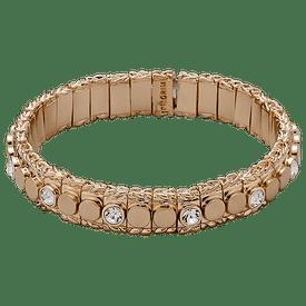 Pilgrim Bracelet Rose Gold Plated Crystal 60153-4082