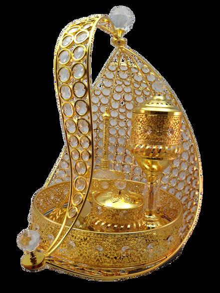 Gold Tray Set